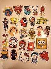 USA Seller 50 Skateboard Vinyl Sticker Anime Cartoon Kid Friendly Not Random Lot