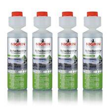 Nigrin® 18,75€/L Scheibenklar 4x250ml Konzentrat 1:100 Scheibenwaschanlage