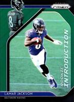 2018 Panini Prizm NFL Football Green Prizm Insert Singles (Pick Your Cards)