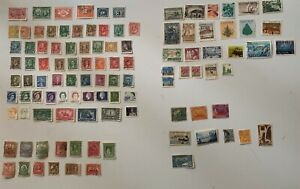80 + Canadian stamps + Newfoundland, St Pierre & Miquelon, Nicaragua, Guadeloupe