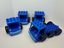 LEGO DUPLO Bob The Builder Vehicle Parts - Lofty - (4) Front Cabin, (1) Bed