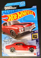 2020 Hot Wheels /'70 Chevelle SS Red NIP 1:64 Scale Fast /& Furious