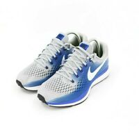 Nike Air Zoom Pegasus 34 Running Sneakers Wolf Gray Blue Men's Size 7 Wide New