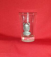 Vintage Egyptian Scarab Bar Shot Glass  collectable FREE SHIPPING CAN USA