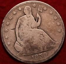1859-O New Orleans Mint Silver Seated Half Dollar
