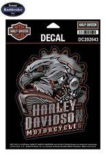 Harley Davidson Set Adesivi Modello Aquila Motore Cromo