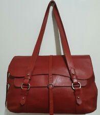 Radley Grosvenor large red oversize shoulder bag