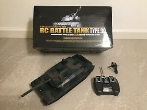RC Battle Tank Type 90 - 1/24 Scale - Radio Controlled - As Shown