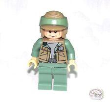 LEGO STAR WARS - REBEL COMMANDO MINIFIGURE DARK TAN VEST 9489,10236