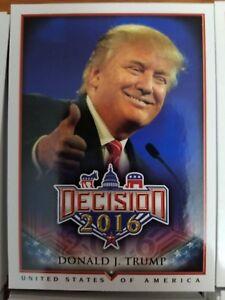 Decision 2016 Candidates BASE SINGLES Card NrMint-Mint