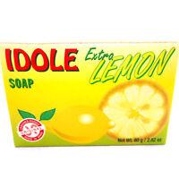 Idole Extra Lemon Soap Skin Face Body Cleanser Jabon de Limon Piel Cara y Cuerpo