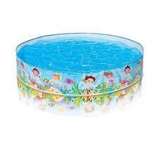 Intex Kiddie Pools Inflatable Snapset Pool Summer Beach Swim Backyard Kid Party