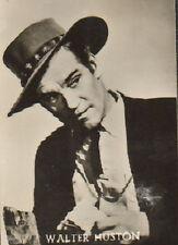 MAPLE LEAF/ DUTCH MOVIE STAR GUM CARD - No. 20 WALTER HUSTON