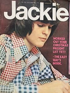 jackie magazine No.518 December 8Th 1973 Roy Wood,slade , Gilbert O'Sullivan