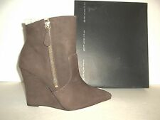 Steven Steve Madden Sz 8 M Meter Distressed Brown Leather Boots New Womens Shoes