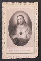CANIVET Le coeur Jésus BOUASSE LEBEL 2085 Image Pieuse HOLY CARD 19thC Santino 2