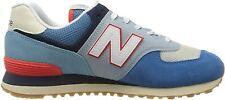 New Balance 574v2, Sneaker Uomo - ML574SOS BLUE SCARPA