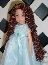"Doll Wig, Monique ""Christine"" Size 6/7 in Chestnut Brown"