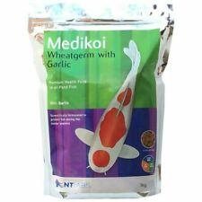 NT 026115 Labs Medikoi Wheatgerm With Garlic Pond Fish Pellet Food 3 kg
