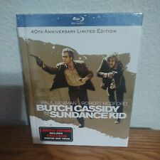 Butch Cassidy and the Sundance Kid Digibook (Blu-ray, 2011) Oop Brand New Sealed