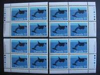 Canada killer whale Ut 1173i MNH matched set of 4 plate blocks!