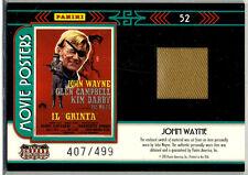 Panini Americana; Movie Posters John Wayne Costume Card 407/499
