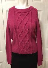 963c148cfa NWT Antonio Melani Pink Cable Knit Sweater Size XS Wool Blend