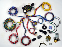 1953-56 FORD TRUCK F100 22 CIRCUIT WIRING HARNESS KIT COMPLETE LONG WIRES