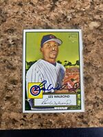 Les Walrond Signed 2006 Topps '52 Rc Auto Chicago Cubs