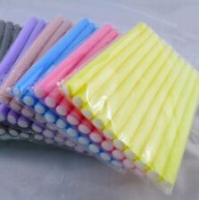 10Pcs DIY Styling Soft Foam Hair Rollers Curlers Makers Bendy Twist Curls Tool