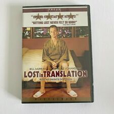 Lost In Translation Dvd New Sealed