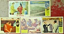 MOVIE LOBBY CARD Lot: SANDPIPER Cape Fear LAST DETAIL Curse/Undead UGLY AMERICAN
