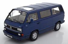 Vw Bulli T3 Multivan Last Edition 1992 Blue Metal Kk-scale Kkdc180141 1/18