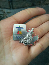rare collector Vancouver 2010 Olympics Snowboarding inukshuk pin Artiss Aminco
