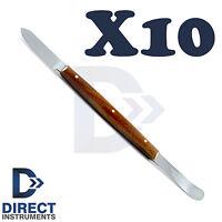 10Pcs Fahen Wax Knife Porcelain 18cm Pottery Dental Lab Mixing Modelling Spatula