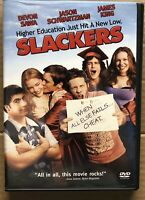 Slackers DVD with Devon Sawa and Jason Segel