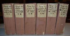 STORIA DI ITALIA - ediz. 1761-1770 - IMPERO ROMANO - MEDIOEVO - 6 volumi