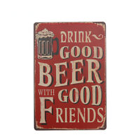 Cowan/'s Irish Whisky Drink Barrel Bar Pub Cafe Old Vintage Medium Metal Tin Sign