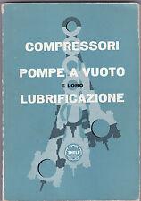 COMPRESSORI POMPE A VUOTO E LORO LUBRIFICAZIONE - SHELL (C6)