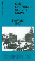 OLD ORDNANCE SURVEY MAP SHEFFIELD 1903 TENTER ST WORTHING RD TALBOT ST TOWN HALL