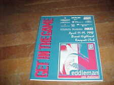 1998 The Eddleman Pro Tennis Classic Tennis Program Brook Highland Racquet Club