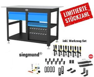 SIEGMUND Workstation 16-er System AKTION - inkl. 2 Schubladen