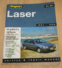Ford Laser KE Series Service Manual 1987-1990