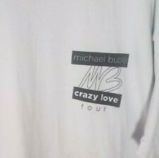 Michael Buble - Crazy Love _ World Tour Gray Large Crew Shirt