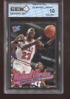 Michael Jordan 1996-97 Fleer Ultra #16 HOF Chicago Bulls GEM MINT 10