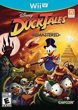 DuckTales - Remastered [Nintendo Wii U, NTSC Video Game, Adventure] NEW