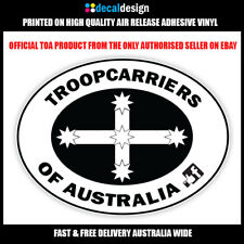 Troopcarriers of Australia Oval Eureka Decal 180mm Wide Sticker #TOA022