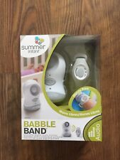 Summer Infant Babies Babble Band Wearable Baby Monitor