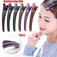 12x professionelle Frauen Haarspange Haarspangen Haarstyling-Tool