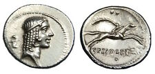 L CALPURNIUS PISO FRUGI AR DENARIUS (H905)